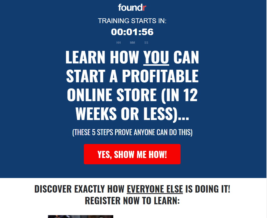 Foundr-landing-page-example